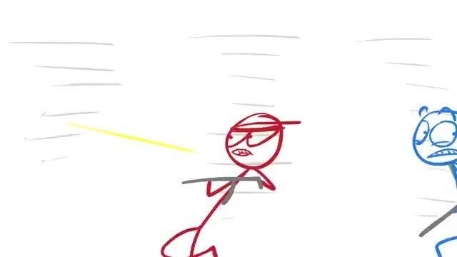 dick figures (Ep#3) - flame war