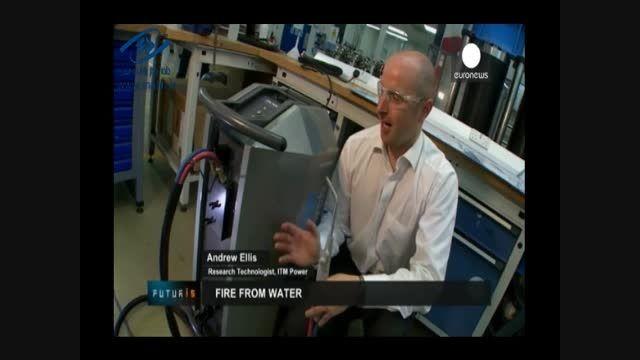 تازه ترین دستگاه جوشکاری از آب آتش می سازد