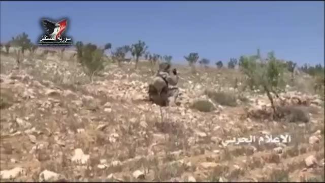 تعقیب و گریز دیدنی حزب الله و فرار تروریست ها