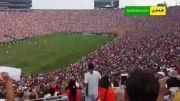 تشویق رونالدو در دیدار منچستریونایتد - رئال مادرید