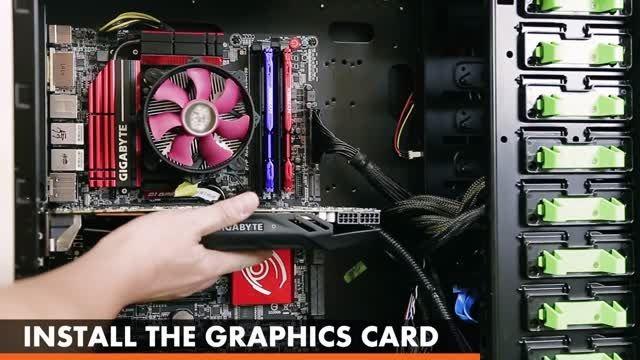 کارت های گرافیکی گیگابایت با استفاده از خنک کننده مایع