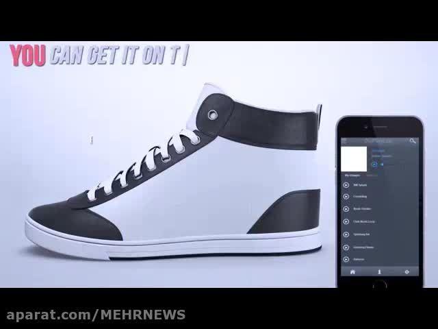 کفش هایی که در یک ثانیه تغییر شکل می دهند