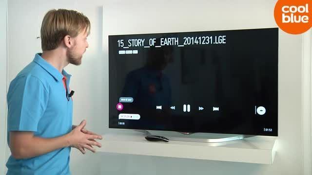 تلویزیون ال ای دی سه بعدی اسمارت فورکای ال جی 60UB850