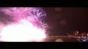 نور افشانی استثنایی سال نو در شهر لندن 2014 !