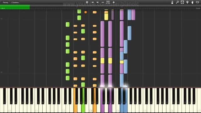 اجرای Do You Wanna با نرم افزار پیانو - سرعت 50%