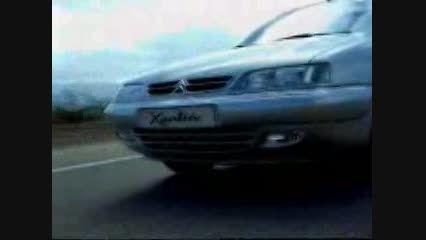 تبلیغات سیتروئن زانتیا سال 1998