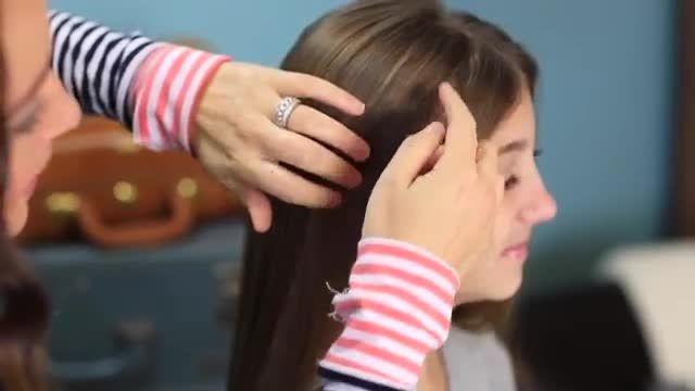 آموزش درست کردم مو به صورت خیلی ساده و زیبا