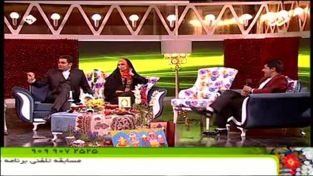 اجرای برنامه طنز و تقلید صدا در ویژه برنامه نوروزی شبکه