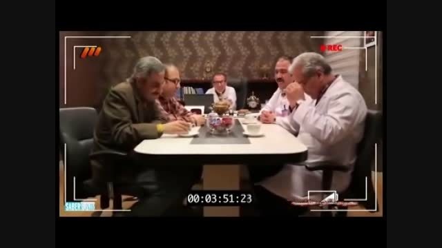 پشت صحنه کمدی سریال طنز درحاشیه (قسمت 11/بخش2)