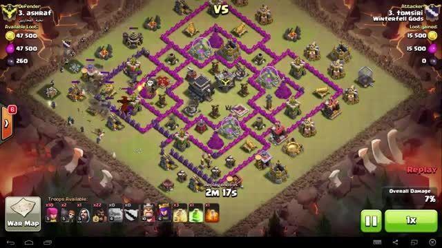 Clash of Clans - TH9 - GoHo - War 71 vs نخبه المحاربین