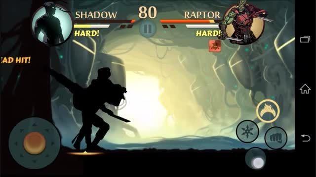 بازی مبارز سایه shadow fight 2
