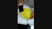 درست کردن قاب گوشی توسط بادکنک