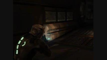 گیم پلی بازی ترسناک DEAD SPACE 1