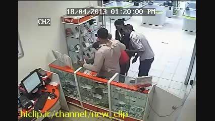 دزدی حرفه ای از گوشی فروشی