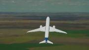 مانور هوایی چشم نواز هواپیمای بوئینگ 787