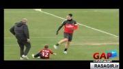 دریبل زدن پسر دیوید بکهام - GAPTV گپ تی وی