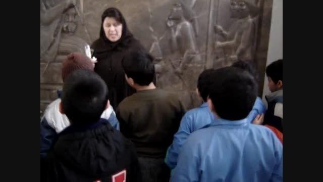 موزه ی ایران باستان با توضیحات جالب