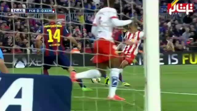 خلاصه بازی : بارسلونا 4 - 0 آلمریا   ( ویدیو )