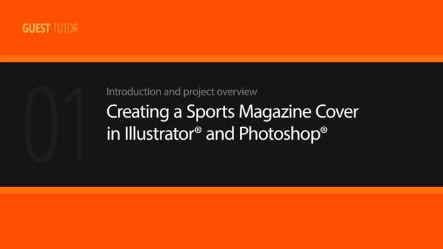 Creating a Sports Magazine Cover in Illustrator