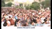 گوشه ای از جشن شادی هواداران دکتر حسن روحانی رییس جمهور منتخب ایران در خیابان های پایتخت