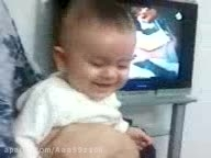 بچه ی خوشحال