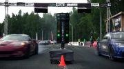 درگ ریس آئودی TT RS و کوروت ZR1 و BMW M6