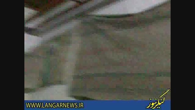 وضعیت اسفناک نمازخانه توتونکاران رشت + فیلم