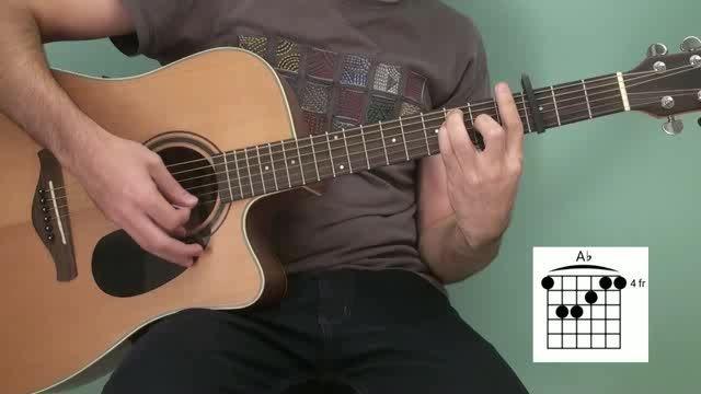 آموزش گیتار آهنگ شال از The Ways