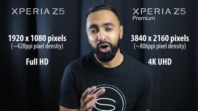 مقایسه گوشی های سونی Z5 و سونی Z5 Premium