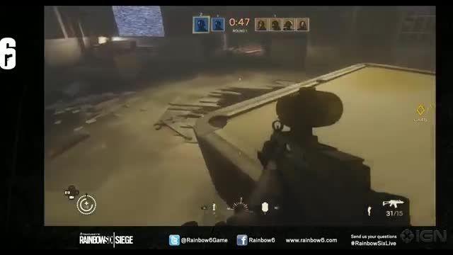 35 Minutes of Rainbow Six Siege Gameplay