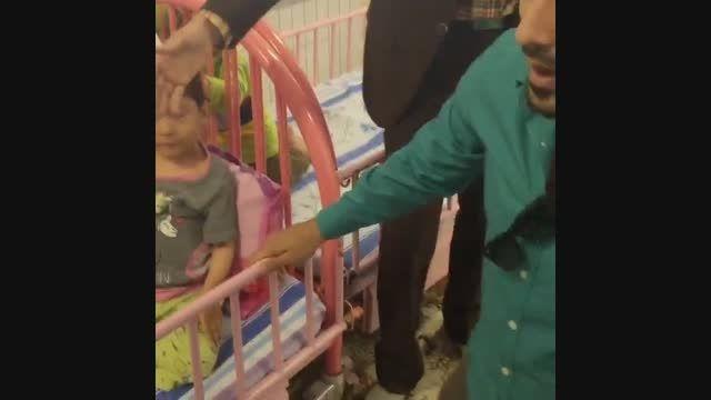 رضا قوچان نژاد و کودکان بی سرپرست