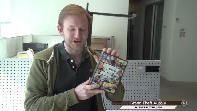آنباکسینگ بازی GTA V برای PC