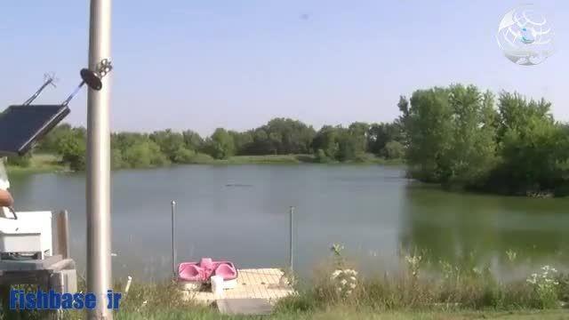 ماهیگیری با کوادکوپتر