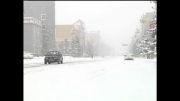 بارش برف سنگین در چین!!!!!!!