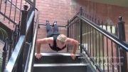 کونگ فو | تمرین بدنسازی و بسیار جالب یک کونگفوکار حرفه ای