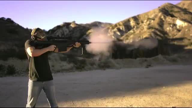 تست مقاومت PS4 در برابر گلوله کالیبر ۵۰