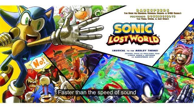 Sonic Lost world- Sing