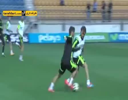 گل فوق العاده زیبای ایسكو در تمرینات تیم ملی اسپانیا
