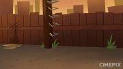 انیمیشن روزهای بد مرد عنکبوتی - دوبله شده  (توسط خودم)