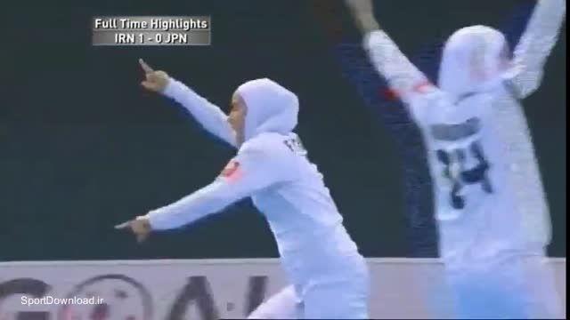 هایلایت مسابقه فوتسال بانوان ایران ژاپن فینال آسیا