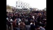عزاداری هیات علی اکبر (ع) صائین قلعه در  میدان انقلاب