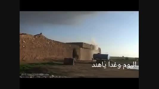 زیباترین و نادرترین لحظه کشته شدن یک داعشی - عراق-سوریه