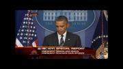 سخنان اوباما درباره تماس تلفنی با روحانی