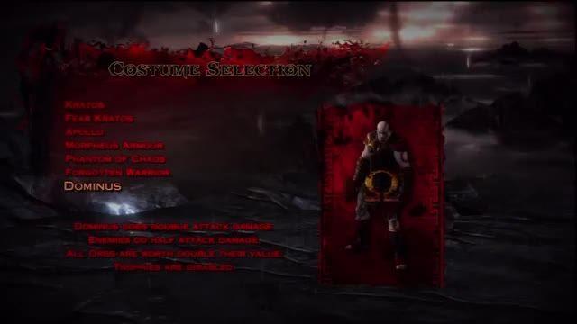 God of War 3 Skins - Costumes