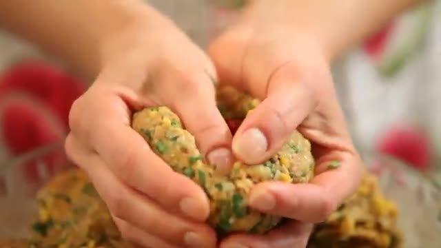 آموزش آسان آشپزی غذای کوفته تبریزی