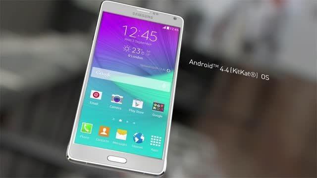 ویدیو معرفی رسمی Samsung GALAXY Note 4