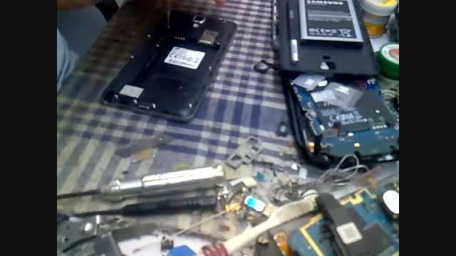 باز و بسته کردن-تعویض تاچ و LCD - گالکسی نوت 3 نئو