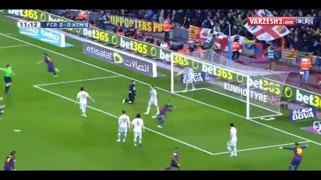 گل نیمار؛ بارسلونا-اتلتیکو مادرید