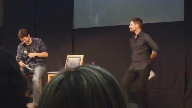 Jensen Ackles dance