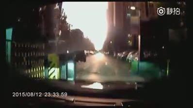 اتفاقی عجیب و غریب در چین و وحشت راننده